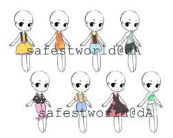 [CLOSE] Dress Adopt batch5 by safestworld