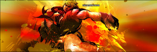 Ken Masters by TheRighteousFascist