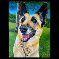 Oil Painting - Beloved Pet Memorial
