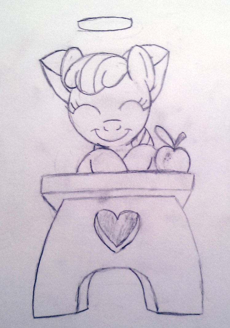 An Apple Bloom a Day Keeps The Teacher Away by Blackite