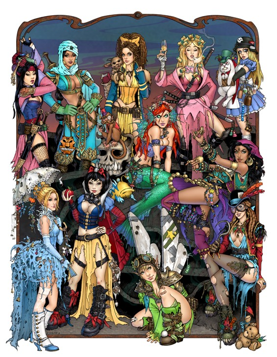 Apocalypse Princesses group :D Apocalypse_princesses_final_by_tessfowler-d5hcopq