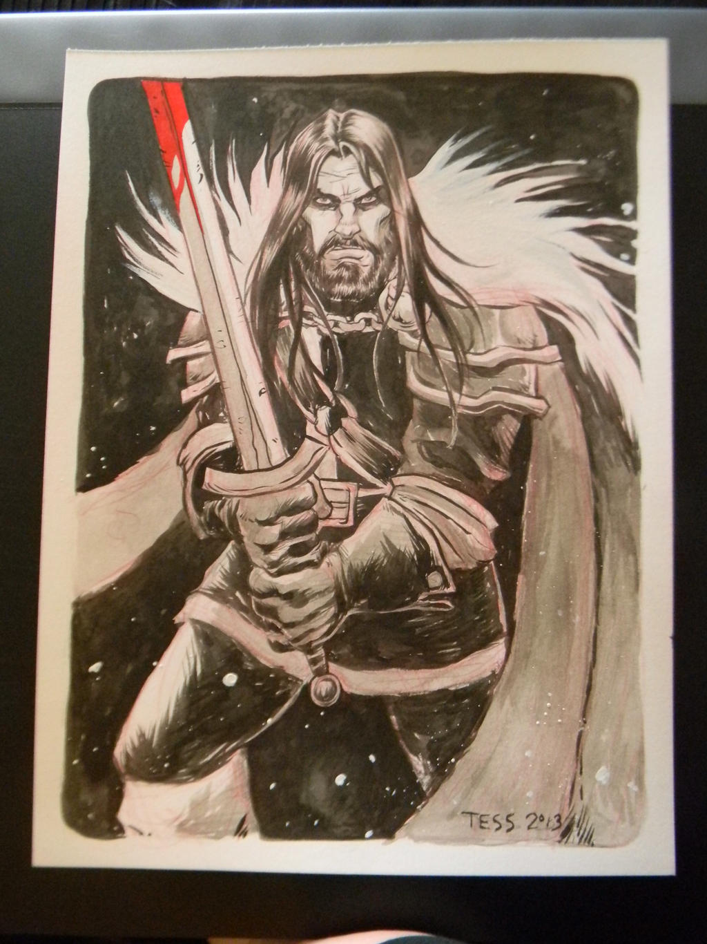 Ned Stark by TessFowler
