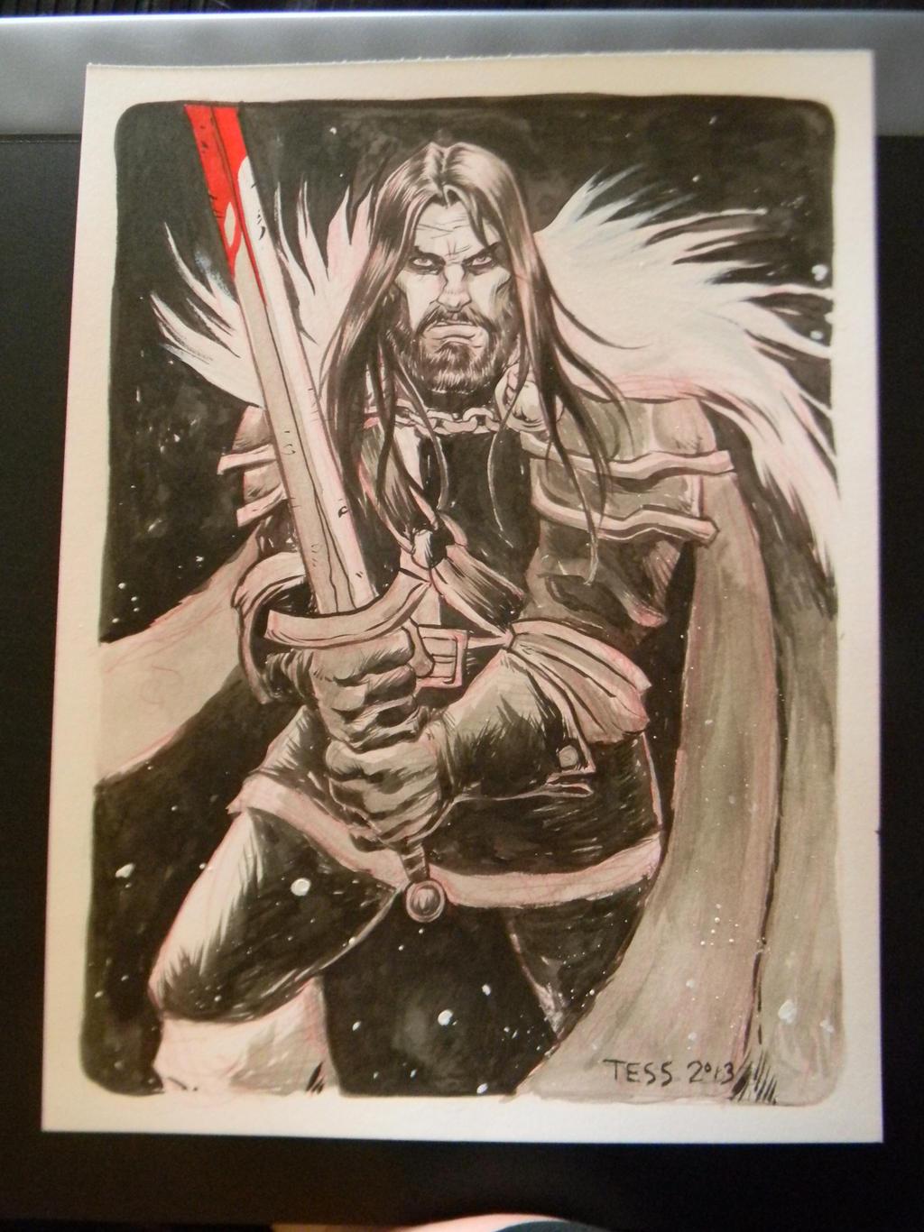 Ned Stark by TessFowler