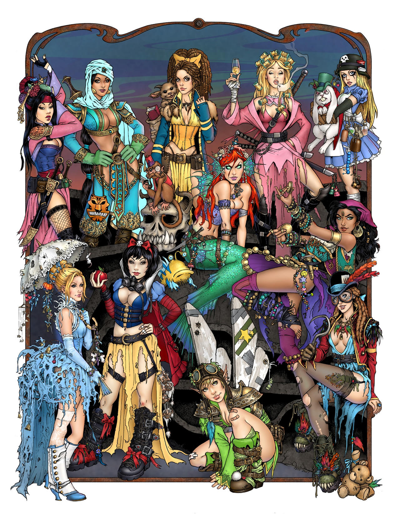 High res Apocalypse Princesses
