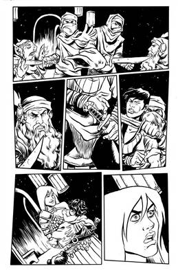 Una the Blade New Page