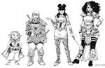 Rat Queens Concept Art