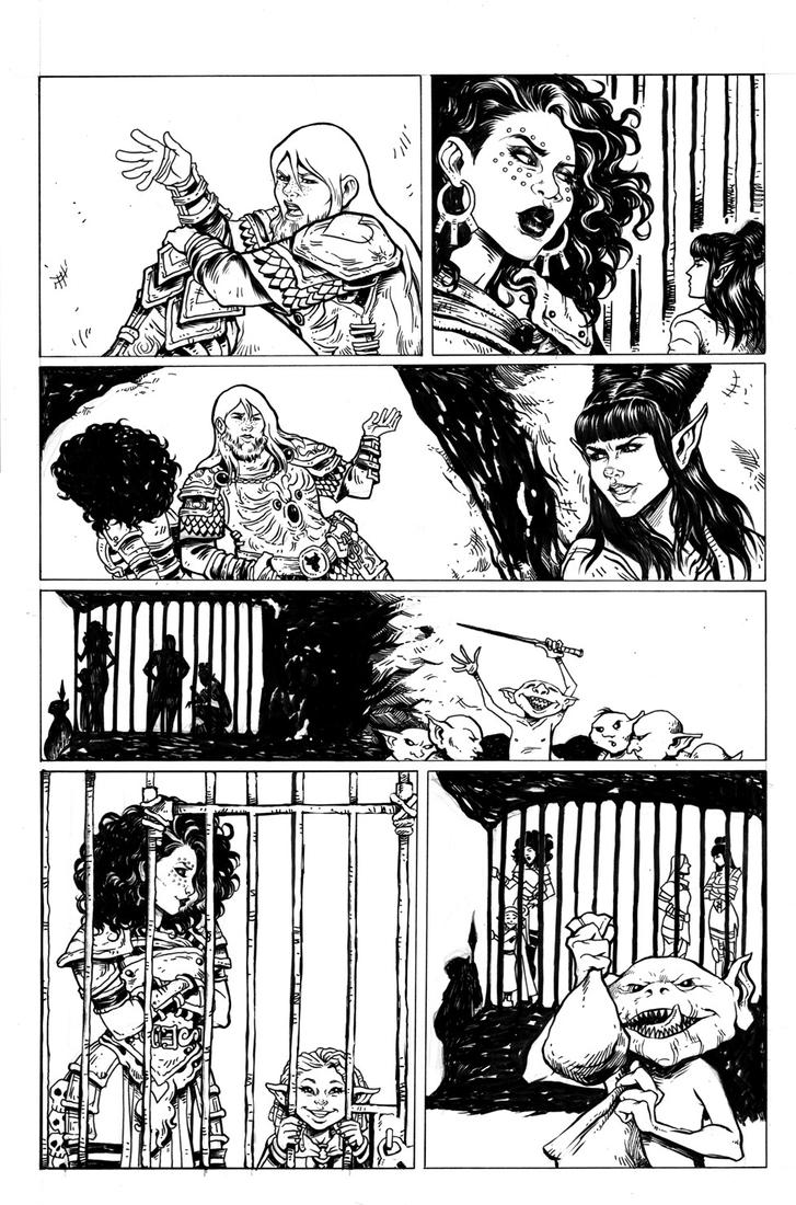 Rat Queens Issue 11 Page 5 by TessFowler