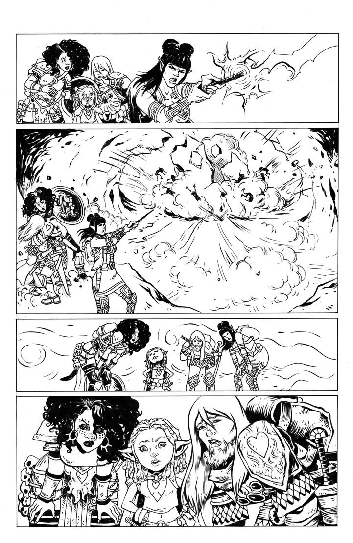Rat Queens 11 Page 11 by TessFowler
