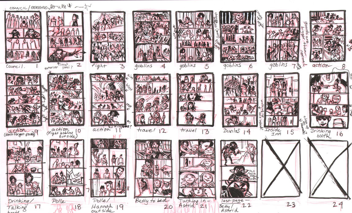 Rat Queens Issue 11 Thumbnails by TessFowler