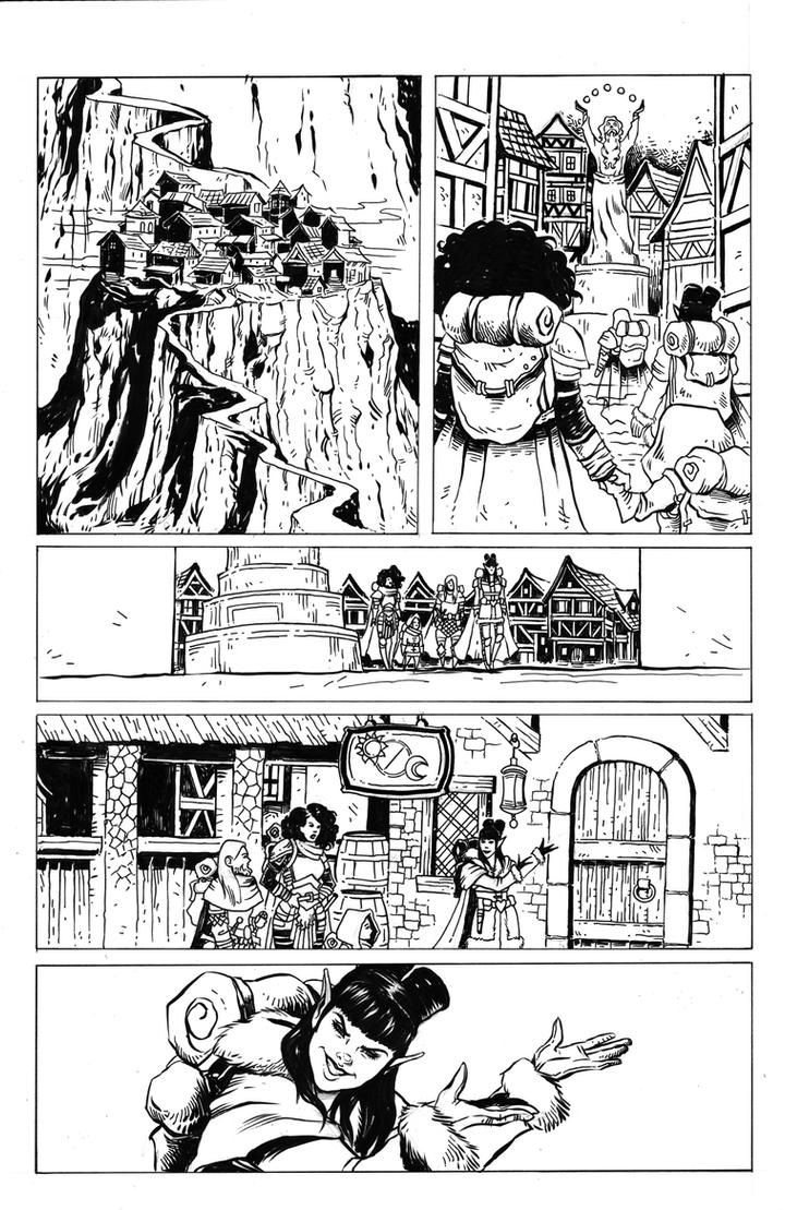 Rat Queens 11 Page 14 by TessFowler