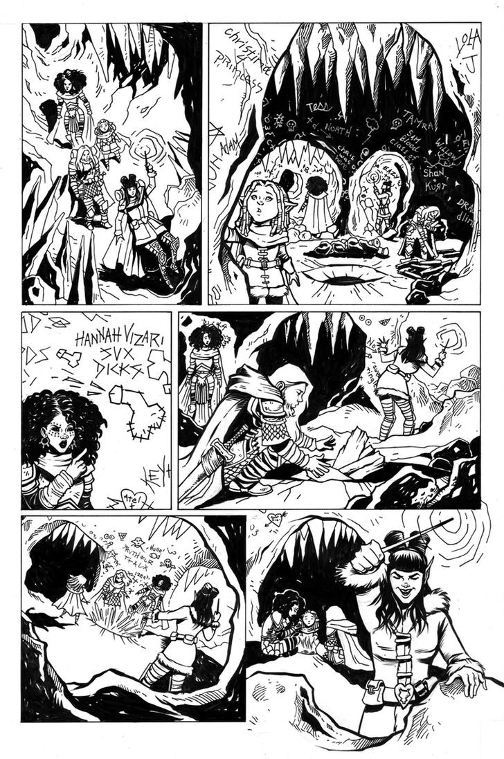 Rat Queens Issue 12 Page 14 by TessFowler