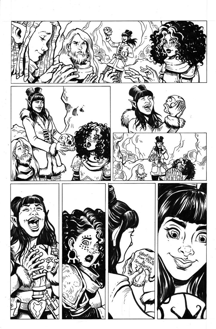 Rat Queens Issue 12 Page 15 by TessFowler