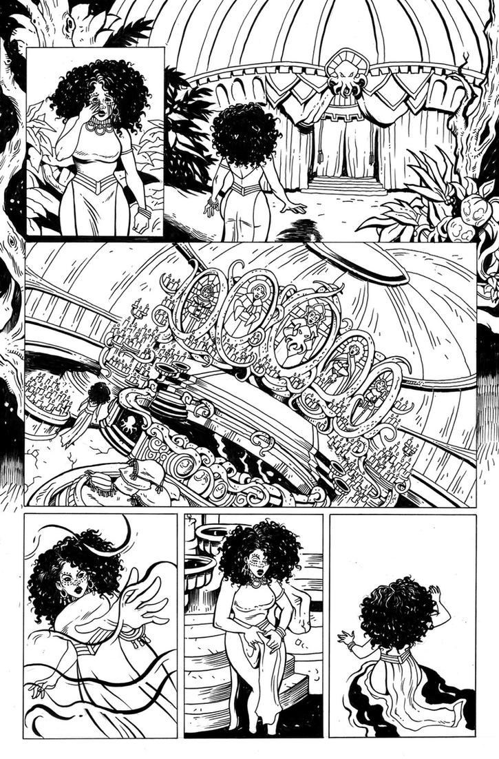 Rat Queens Issue 12 Page 9 by TessFowler