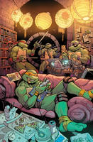 TMNT variant cover by TessFowler
