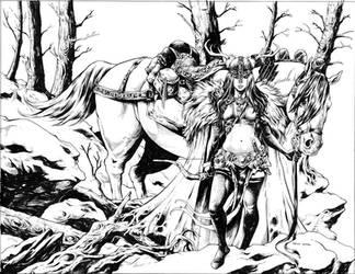 Heathen Cover Art by TessFowler