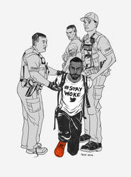 Deray Stay Woke Art