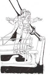 Doctor and Rose Titanic Commission by TessFowler
