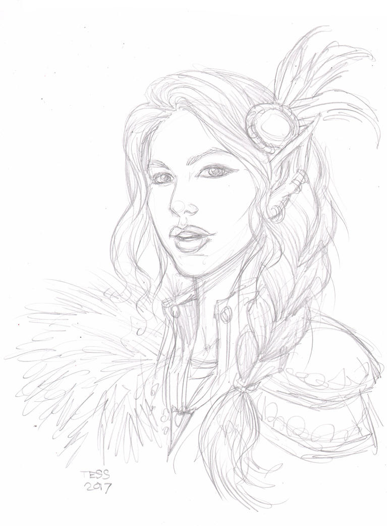 Vex Portrait Commission by TessFowler