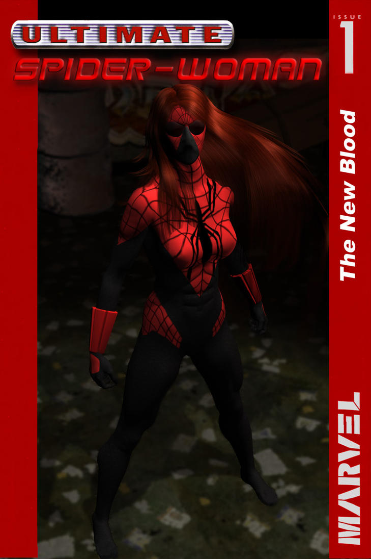 Ultimate Spider-Woman 001 by SB001 on DeviantArt