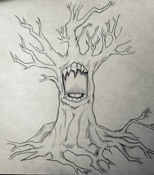 screaming tree by courtneykurtenbach