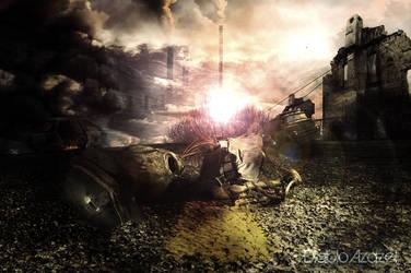 Explosion nucleaire by diabloazazel