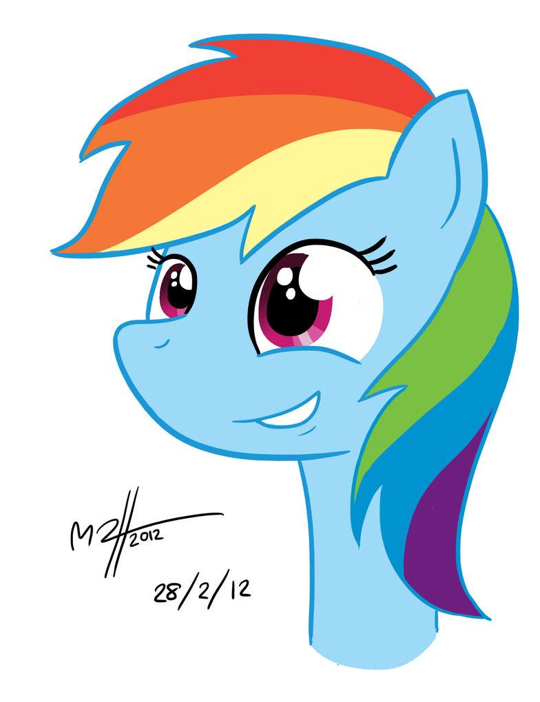 Rainbow Dash Drawing