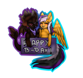 Happy B-day Blitz! by Shina-X
