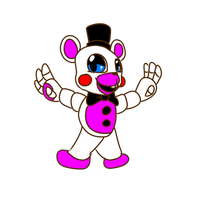 Funtime Freddy mini figure .:FNAF 6 OFFICIAL:. by Shina-X