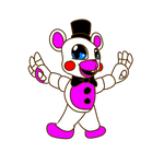 Funtime Freddy mini figure .:FNAF 6 OFFICIAL:.