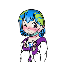 Earth-chan by Shina-X