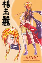 kunoichi - AZUMI - by GigabyteXX