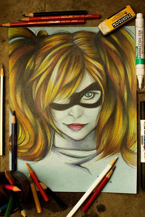 Harley Quinn by kiratsuki1412