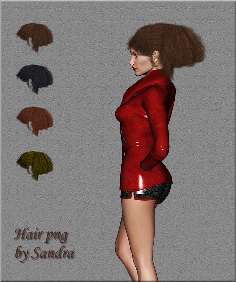 Hair png by manilu