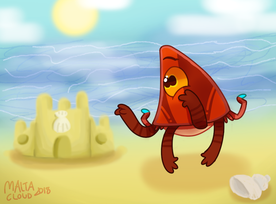 Beach Day [Contest Entry] by MaltaCloud
