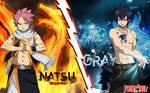 Fairy Tail Natsu Vs Gray