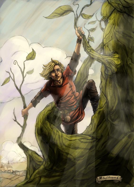 Jack and the Beanstalk by yusef-abonamah