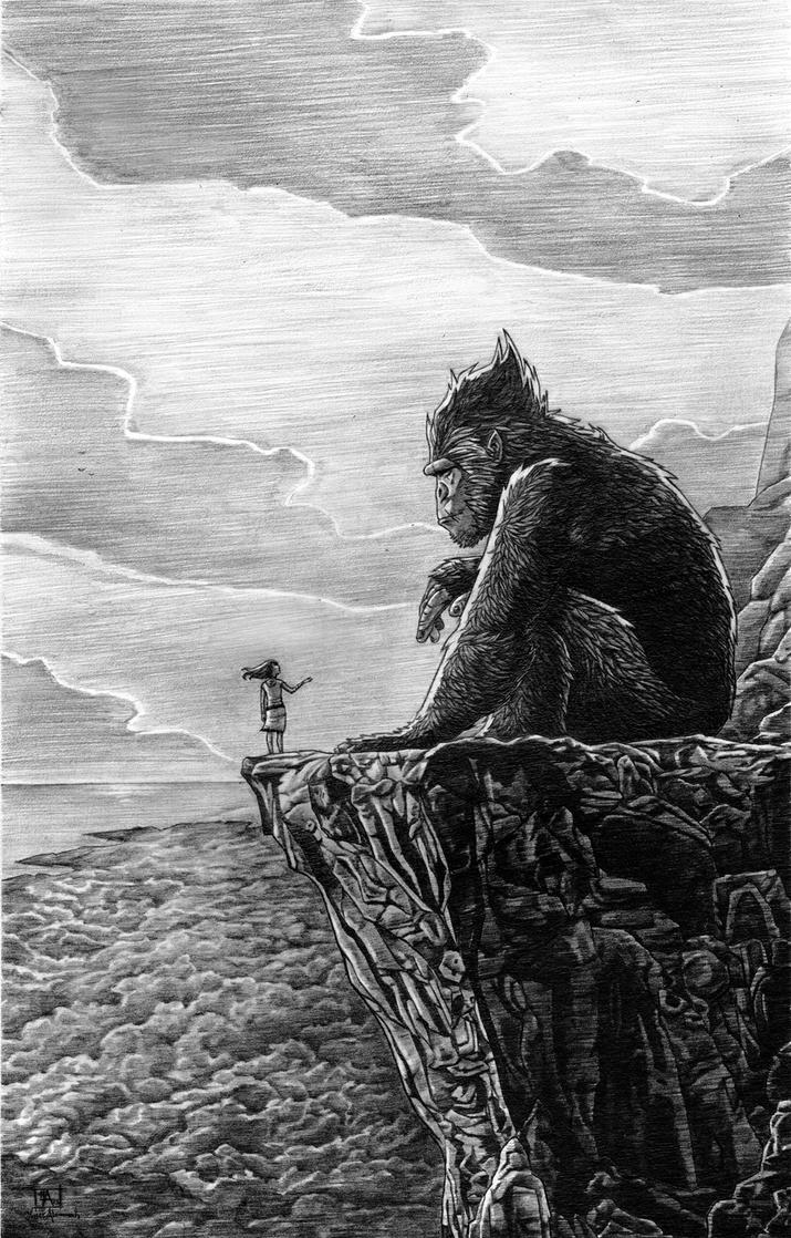 King Kong by yusef-abonamah