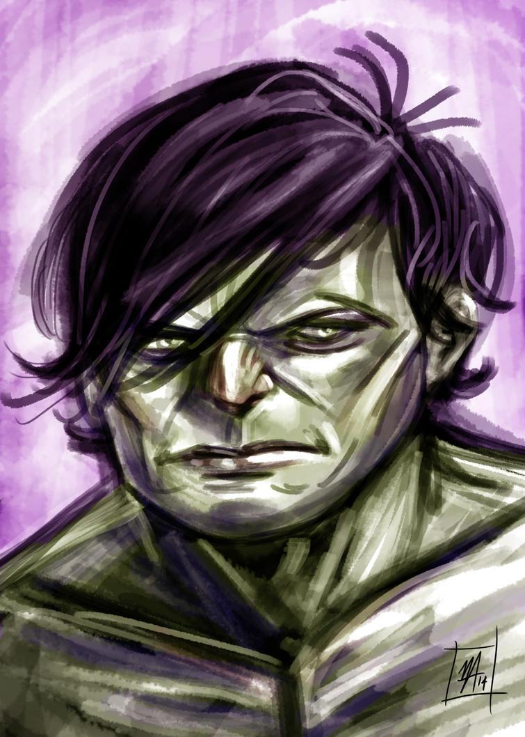 Hulk! by yusef-abonamah