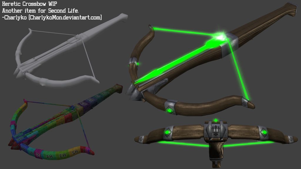Heretic Crossbow WIP 01 by Charlykomon on DeviantArt