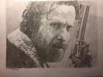 Rick Grimes by WubbalubbadubdubC137