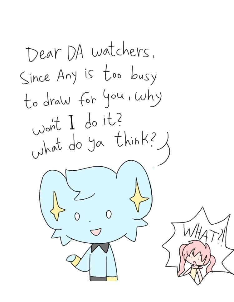 Dear watchers... by AnySketches