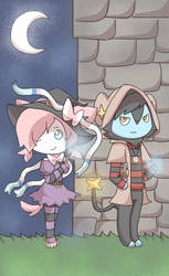 Striped mages by AnySketches