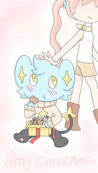 Merry Christmas Shinx by AnySketches