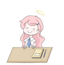 Good student (Description) by AnySketches