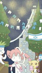 Israel Independence Day by AnySketches