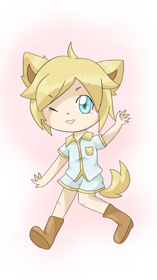 A human fox by AnySketches