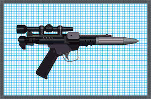 Blaster Pistol- DH-17 by Codemus