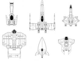 Expanded Universe Fighters by Codemus