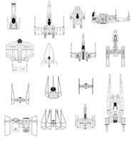 Star Wars Fighters by Codemus