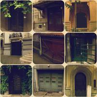 Doors of Bucharest by randomstarlight